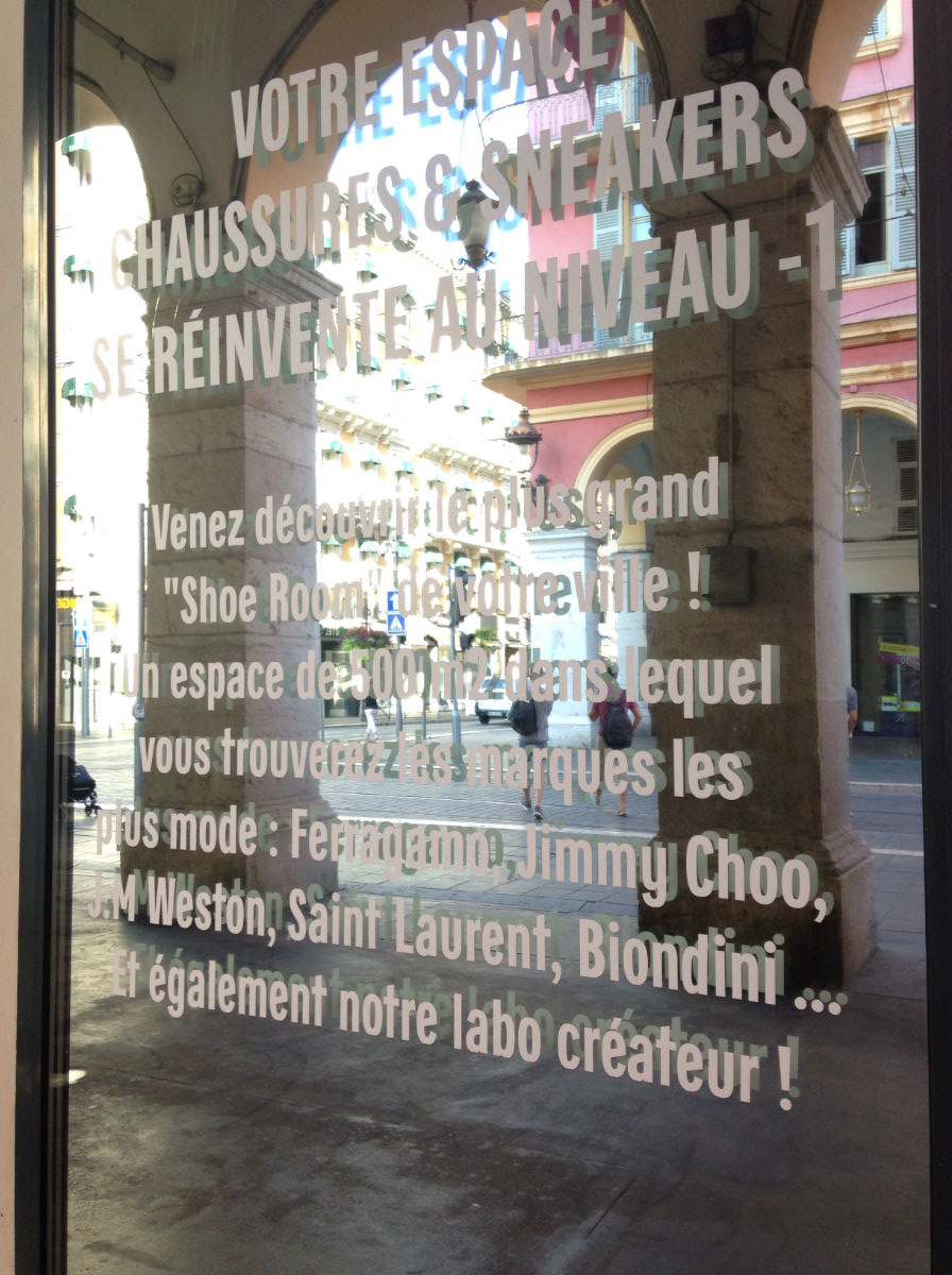 galerie lafayette nice chaussure