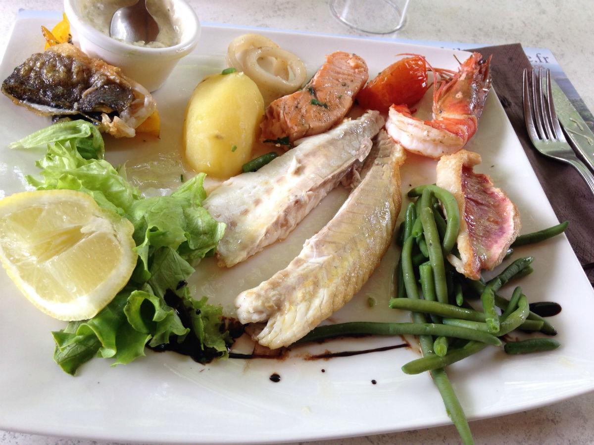 poisson restaurant les baous vence
