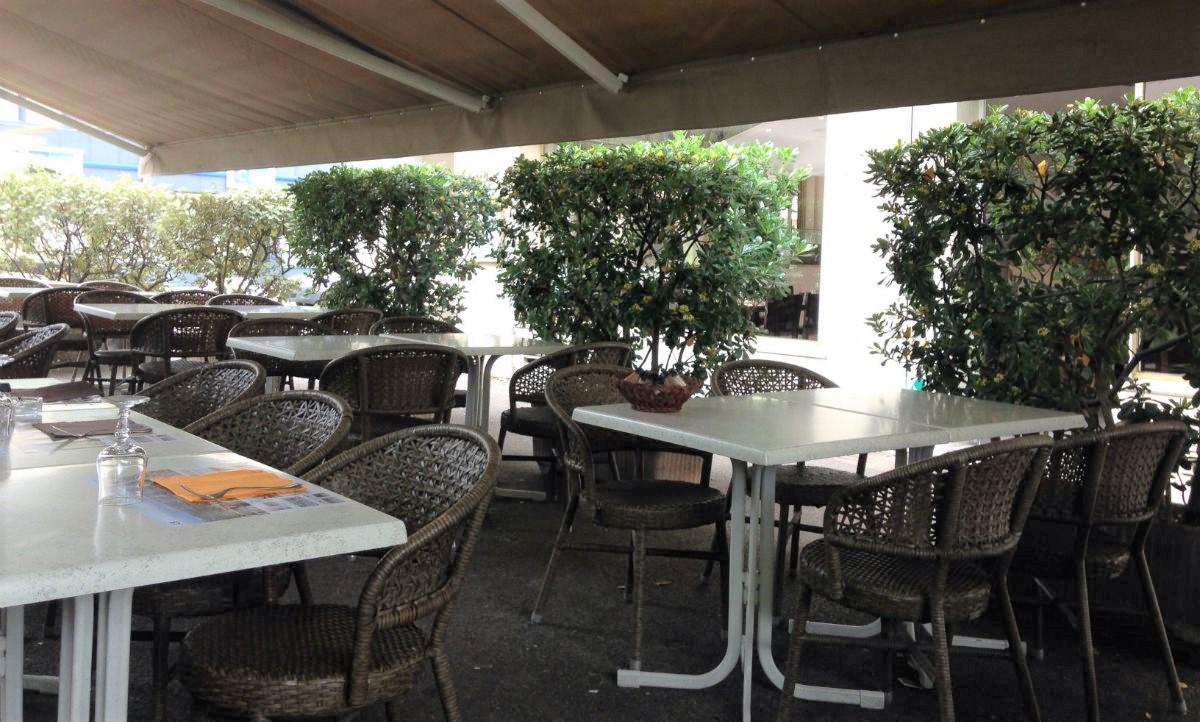 terasse restaurant les baous vence