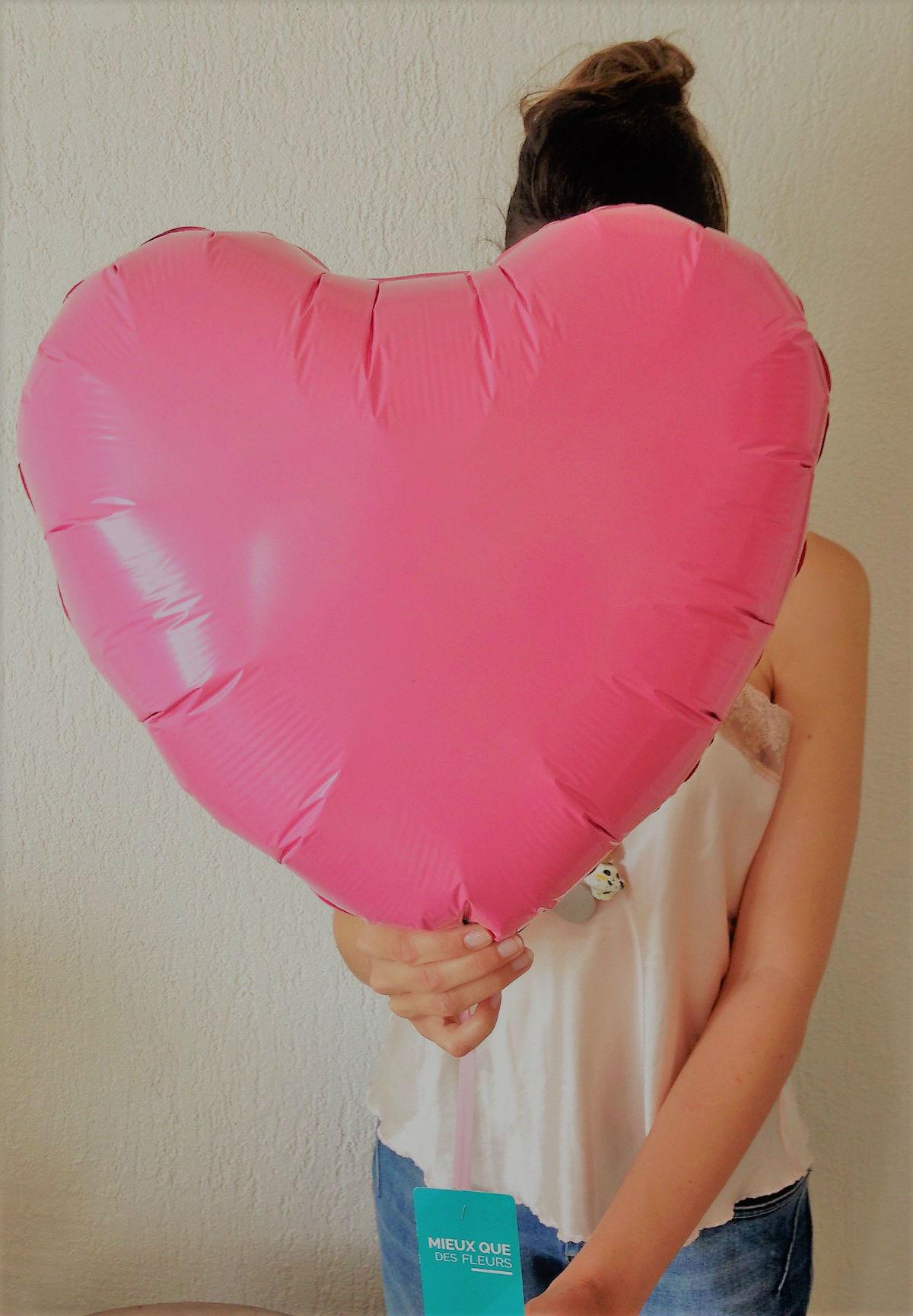 ballon coeur idee cadeau
