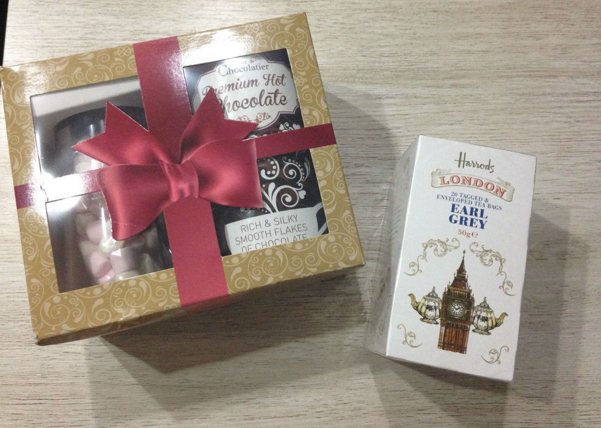 cadeau chocolat chaud the diy