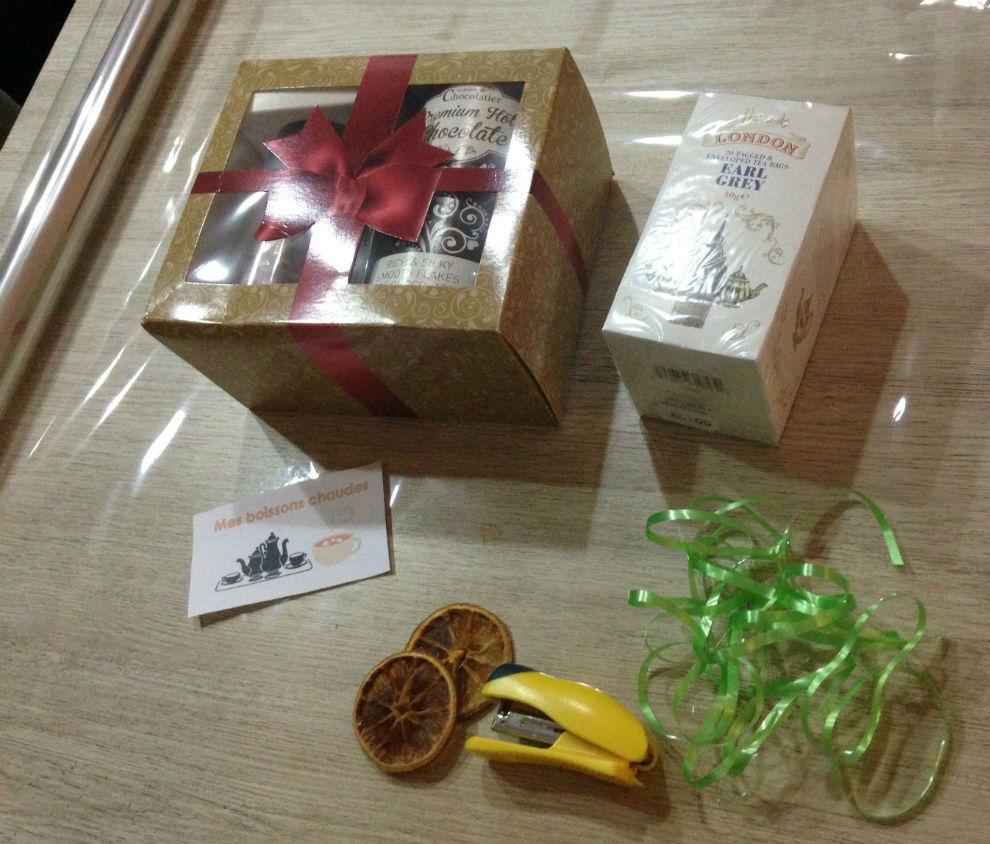 emballage cadeau boisson chaude