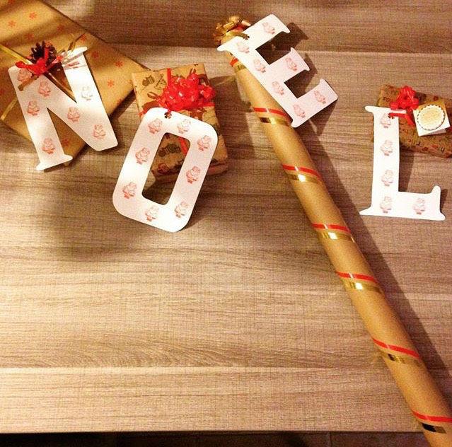 emballage cadeau original noel