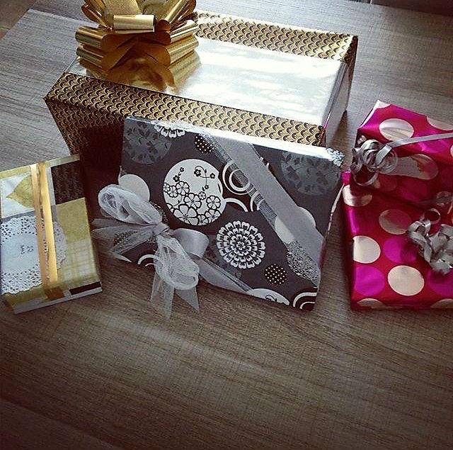 idee emballage cadeau chic noel