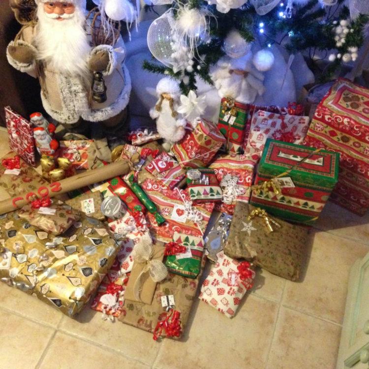 paquet cadeau noel emballage