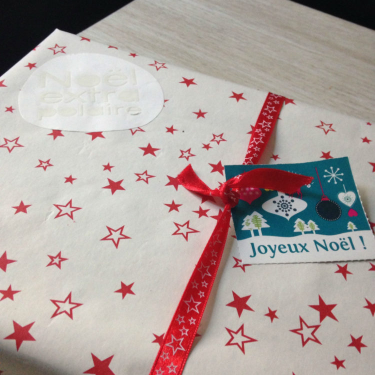 emballage cadeau etoile noel