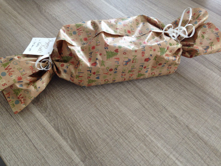 emballage cadeau facon bonbon