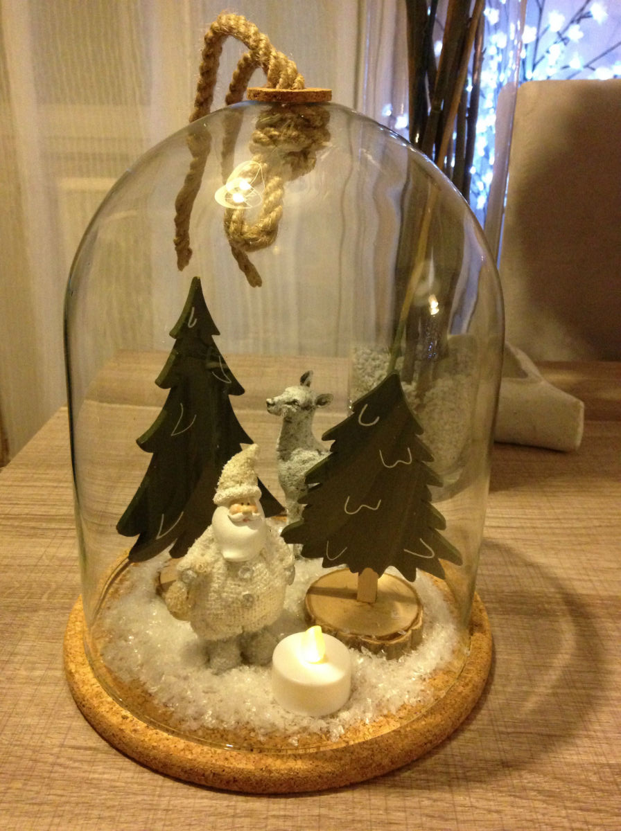 cloche decoration noel