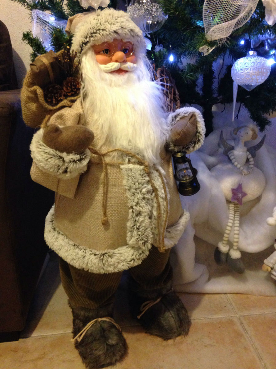 pere noel decoration