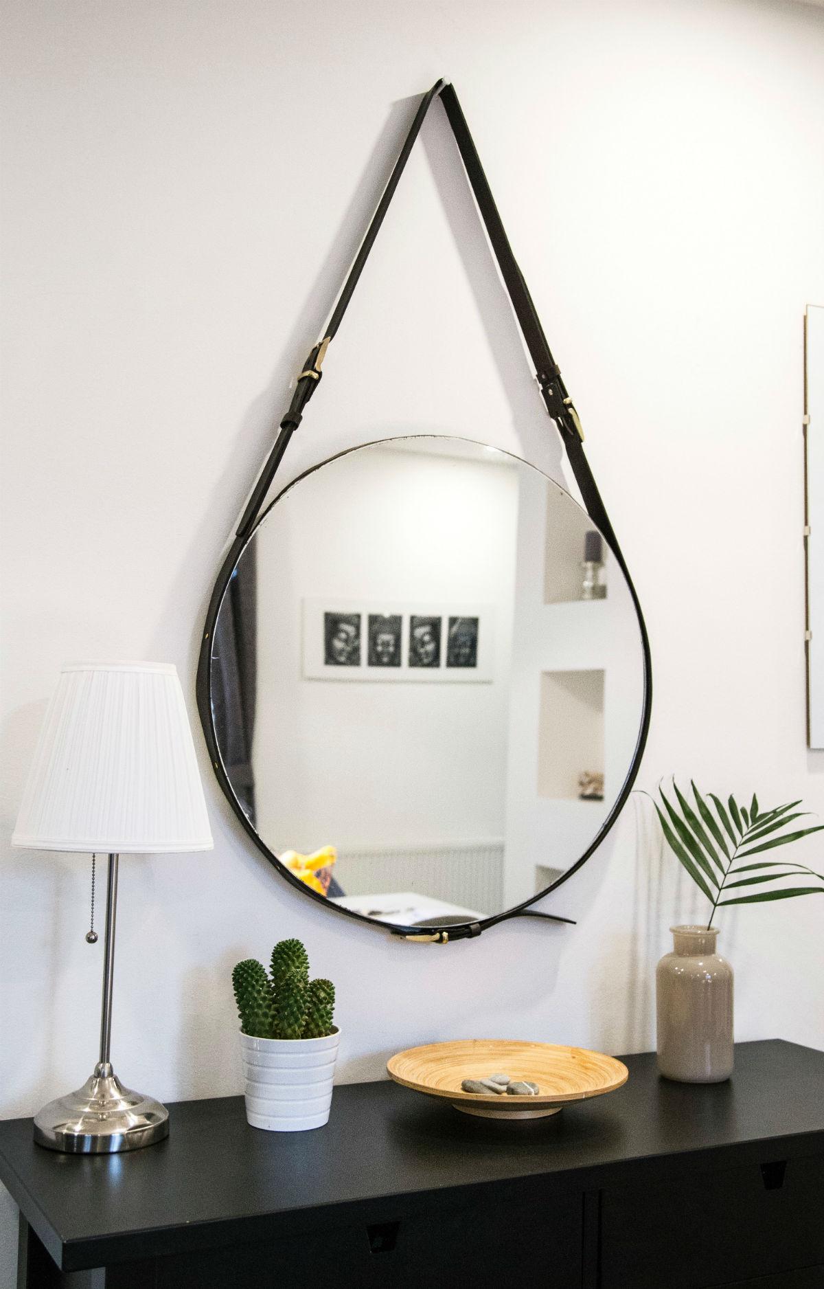 miroir rond decoration