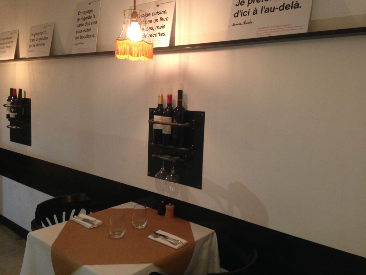 table restaurant fine gueule nice