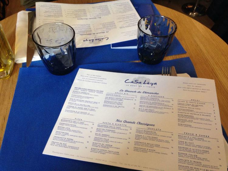 casa leya restaurant nice menu