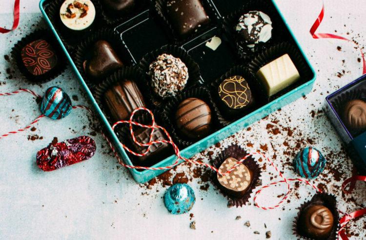 idee cadeau chocolat saint valentin