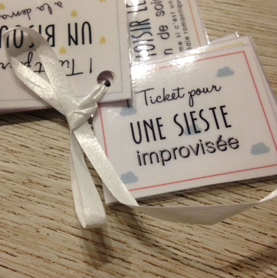 idee cadeau saint valentin ticket amour