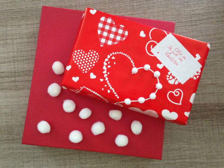idee emballage cadeau saint valentin