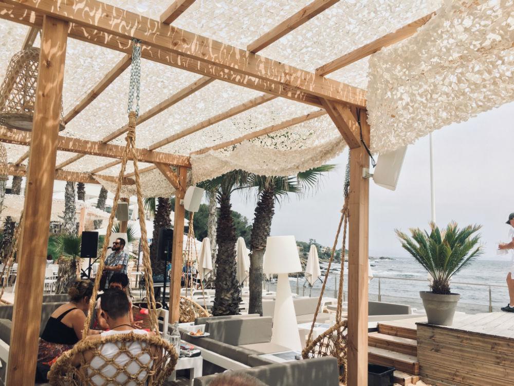 bruncher le cercle restaurant plage privee