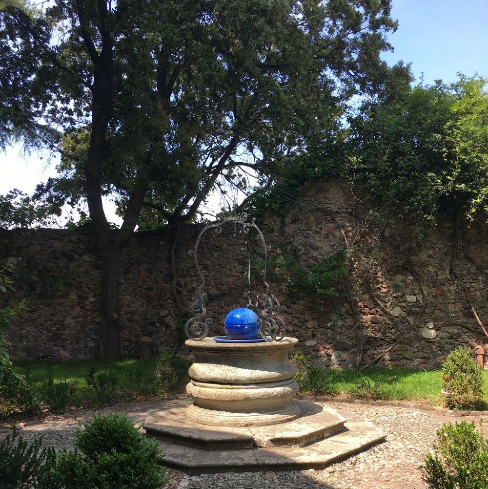 jardin chateau mandelieu napoule
