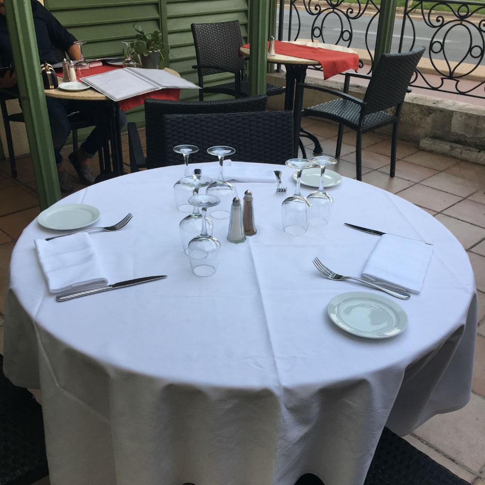 table restaurant le siecle nice