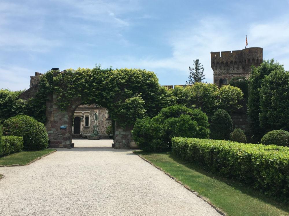 visiter chateau mandelieu napoule