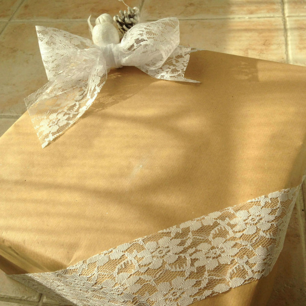 emballage cadeau papier kraft