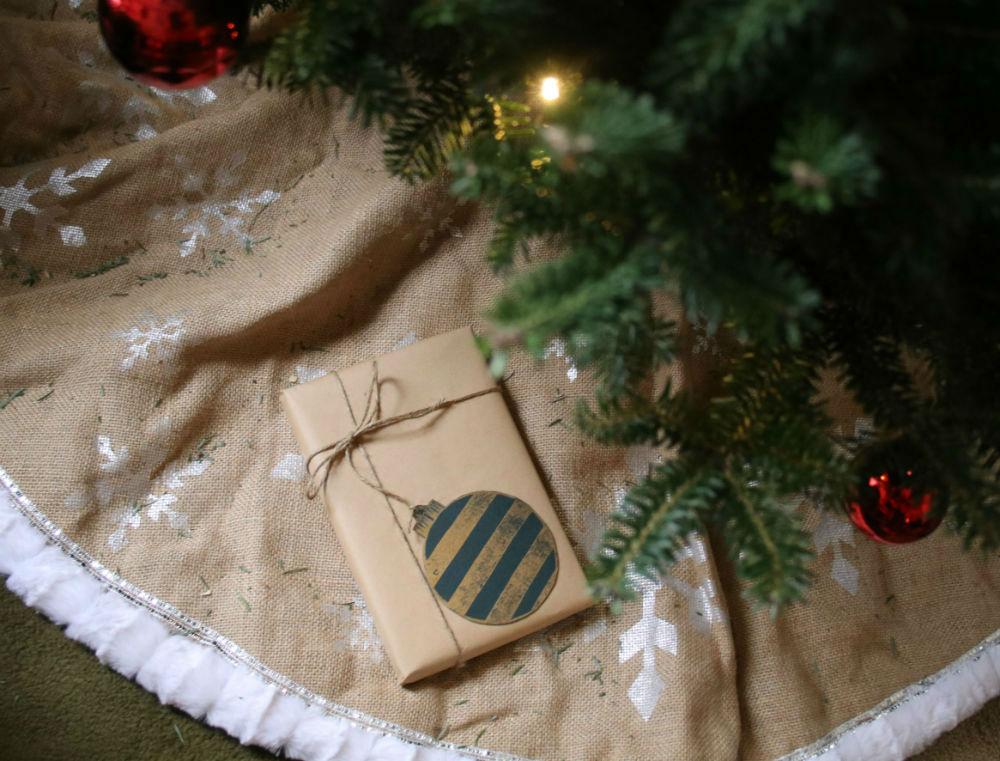 papier kraft idee cadeau emballage