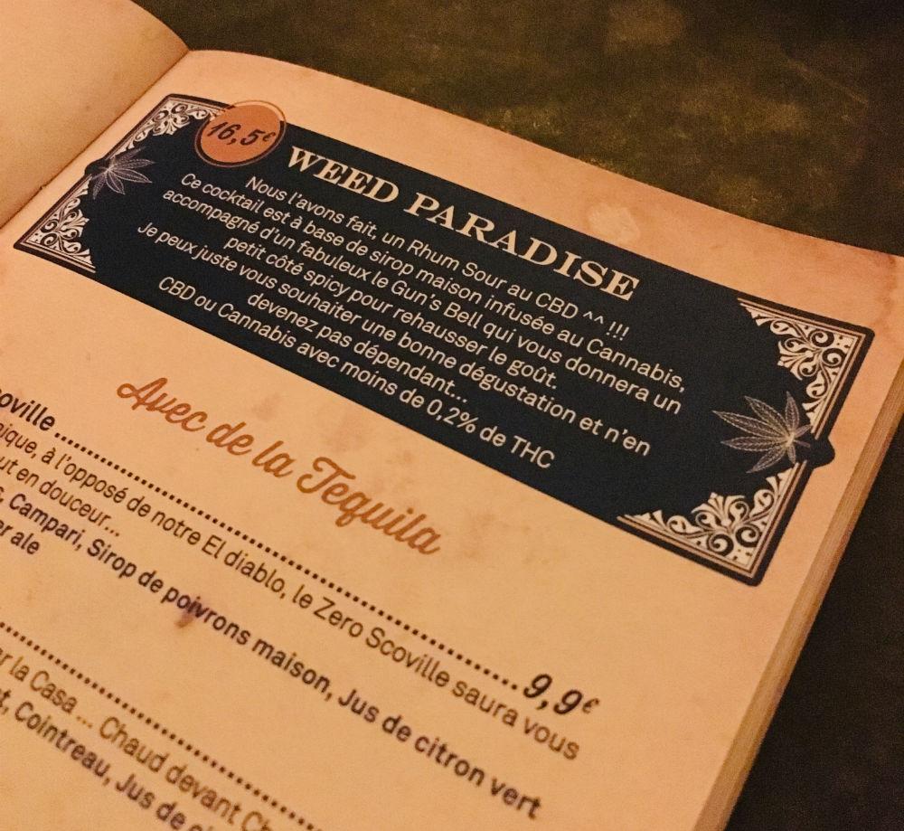 carte cocktail el merkado nice