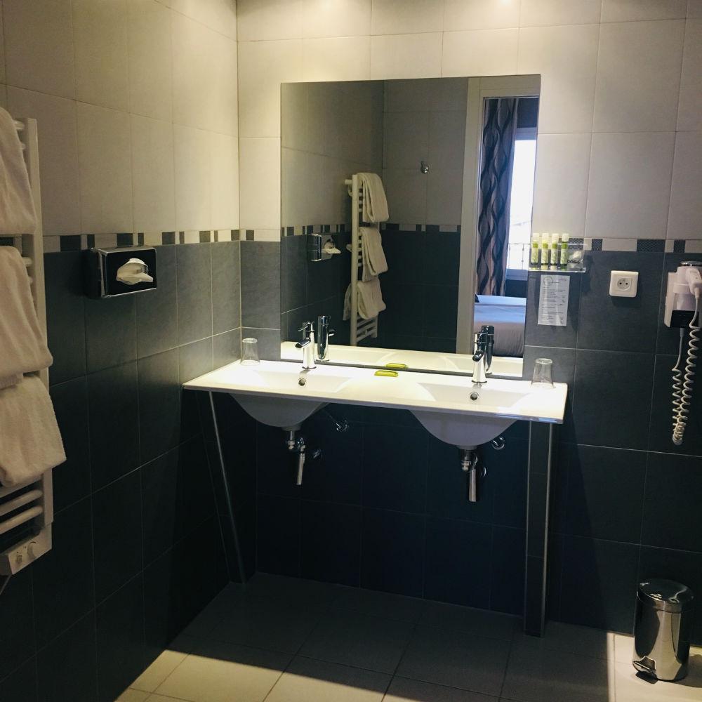 hotel ellington nice salle de bain