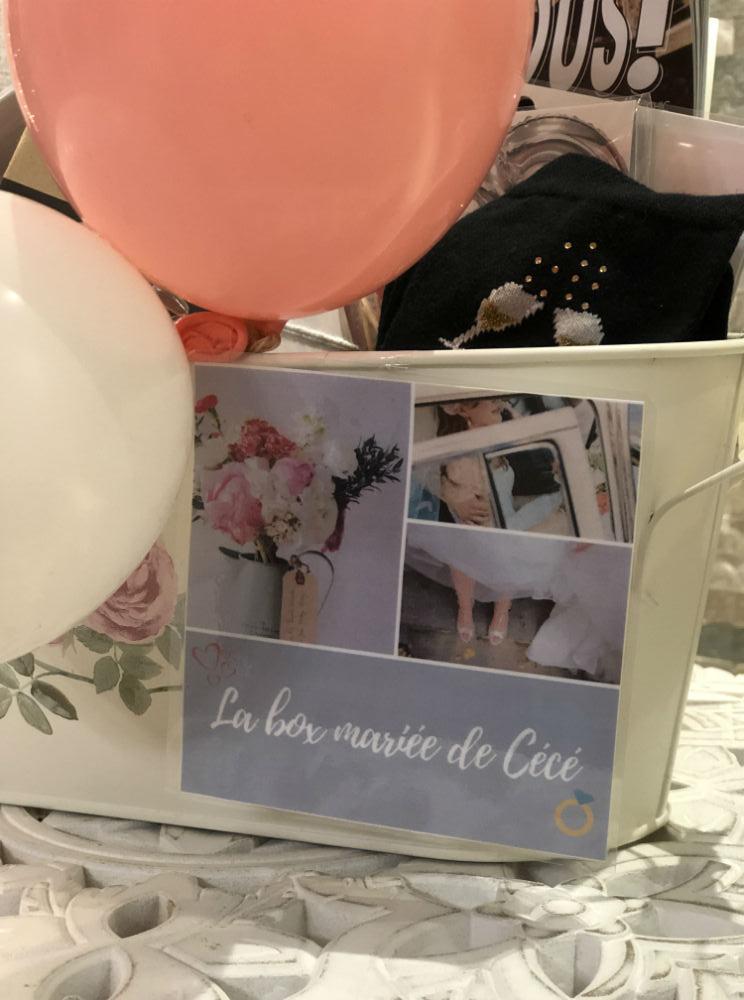 cadeau box mariage diy