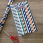 Emballage cadeau homme : la chemise du gentleman