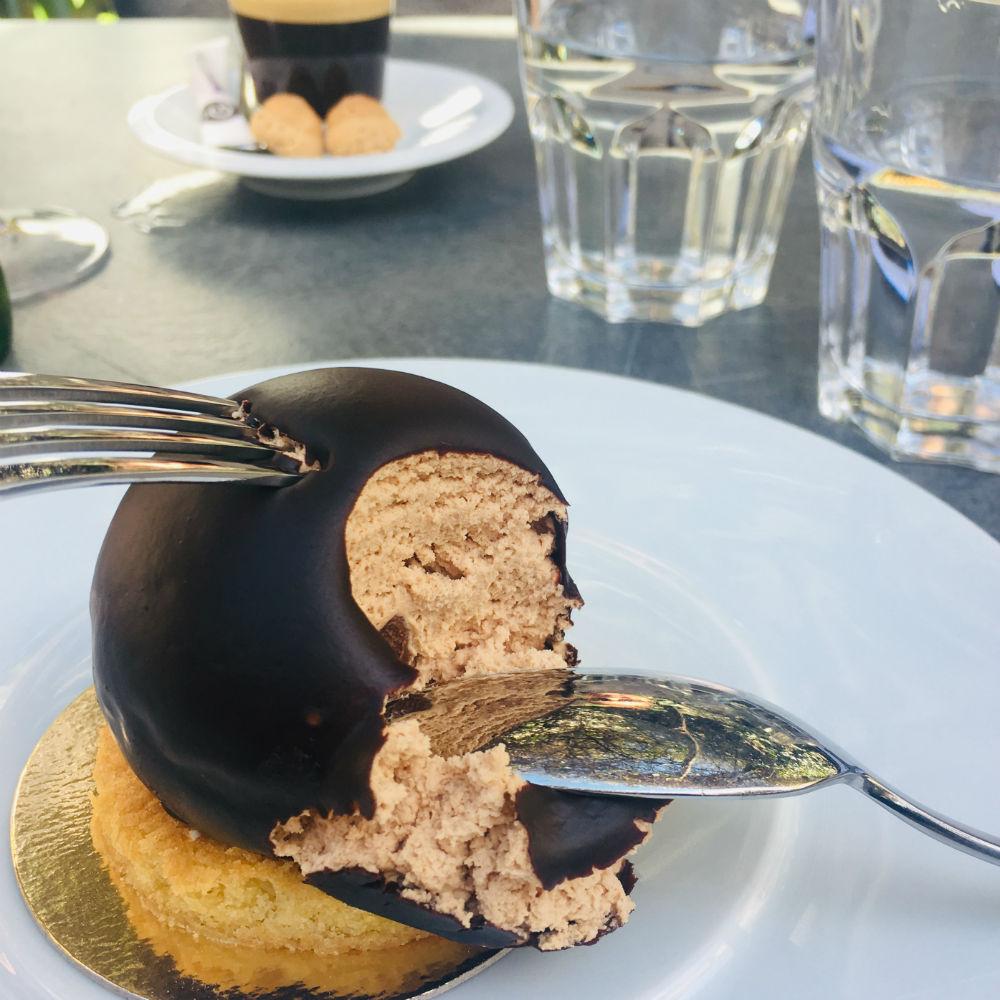 dessert restaurant cote jardin cannes