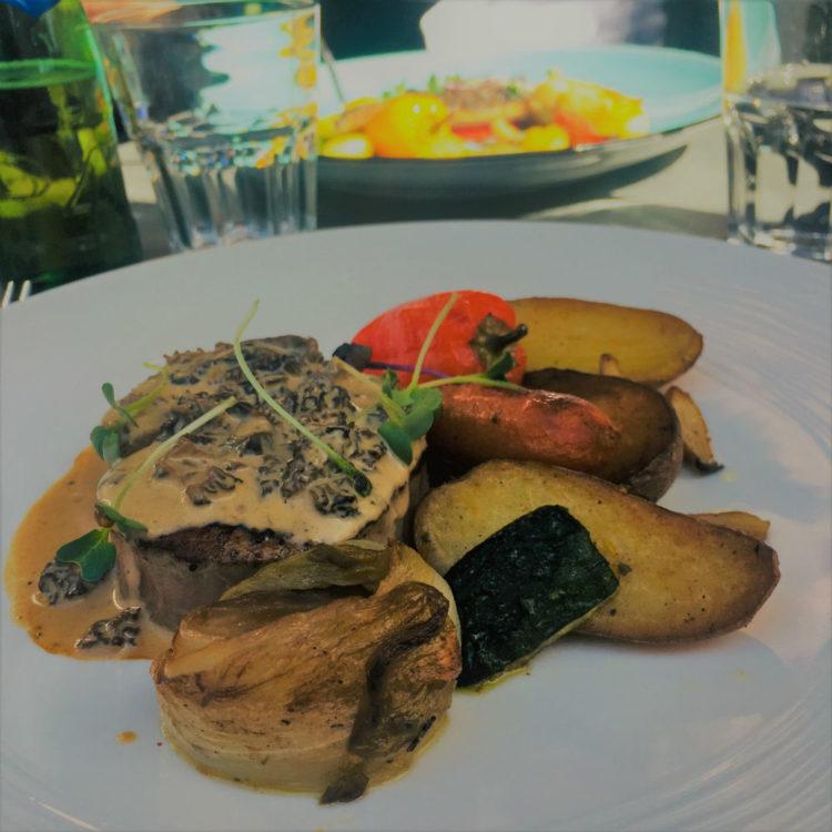 plat restaurant cote jardin cannes