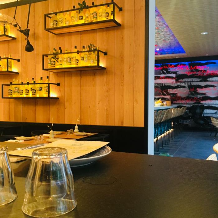 decoration restaurant miamici nice