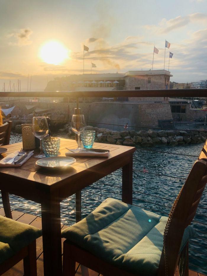 plongeoir nice restaurant