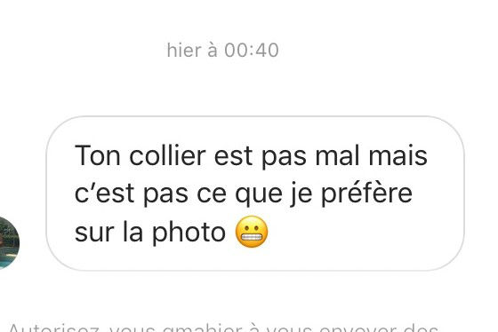 drague message instagram
