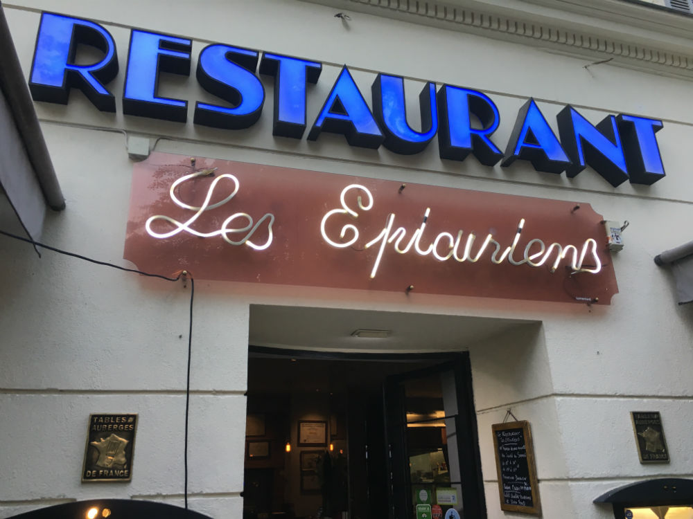 les epicuriens restaurant nice