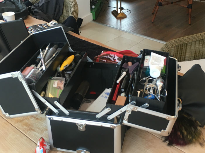 maquillage television