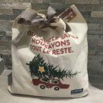 Idée d'emballage cadeau facile : le tote bag