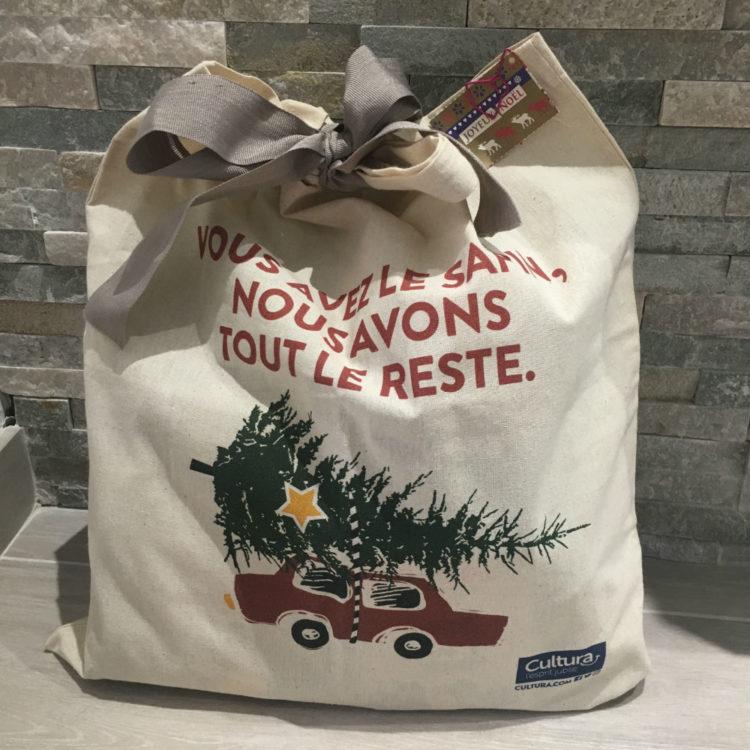 emballage cadeau noel tote bag