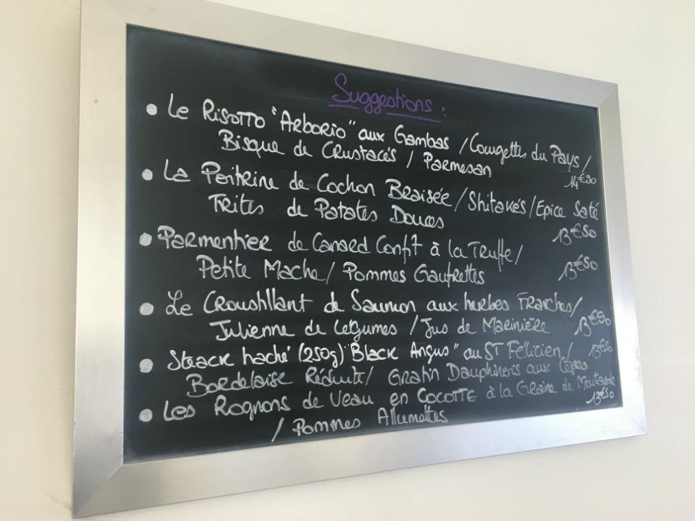 menu le bistronome nice