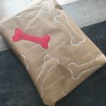 Emballage cadeau pour chien
