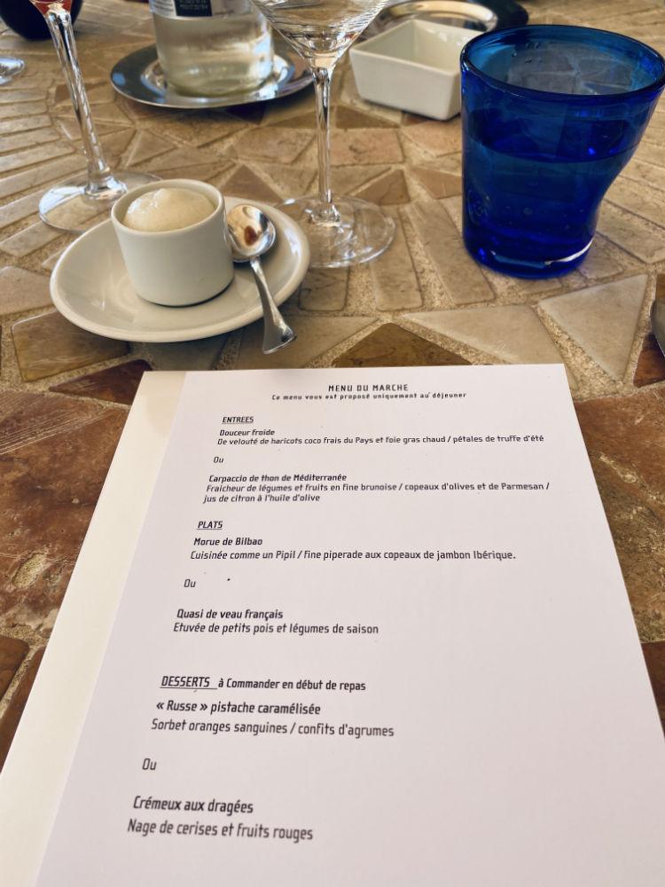 menu marche restaurant alain llorca