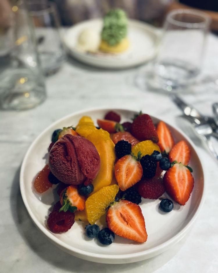 brasserie mediterranee dessert