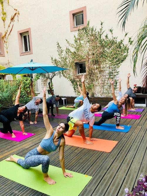 nice cours de yoga