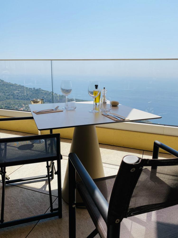 restaurant hotel terrasses eze