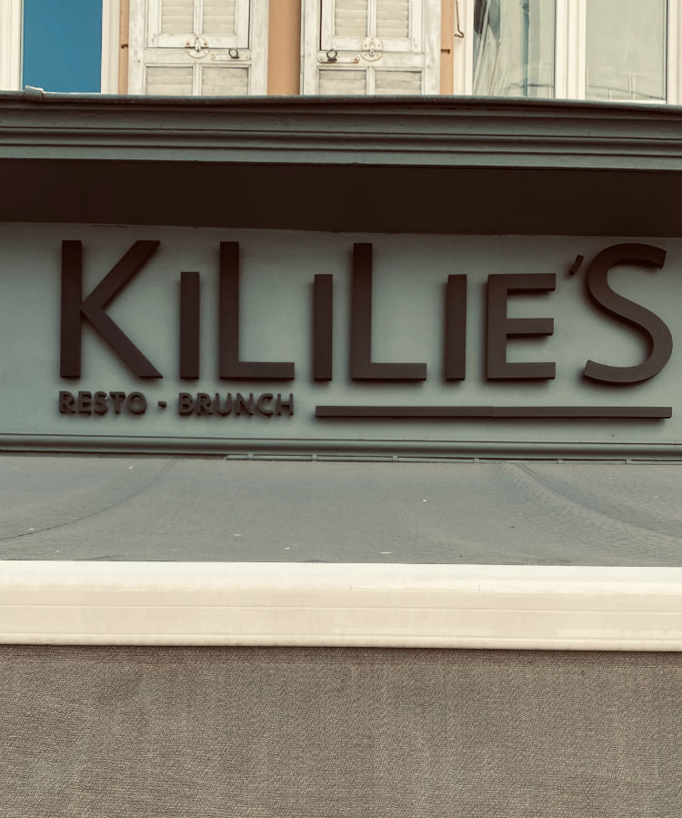 restaurant kililies nice