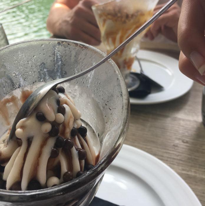 dessert restaurant ecluse pegomas