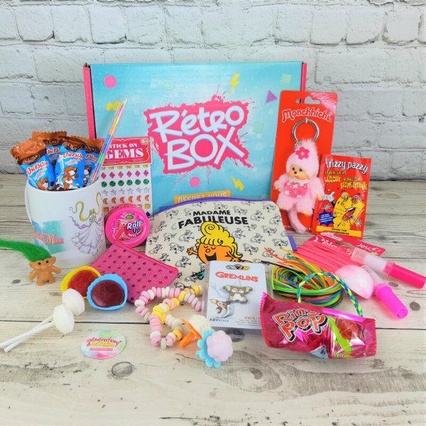 retro box generation souvenirs